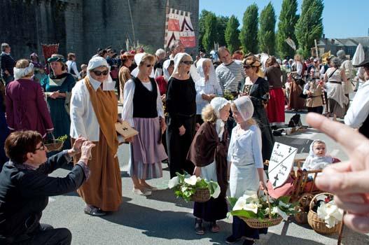 À la fête médiévale de Guérande (2015)