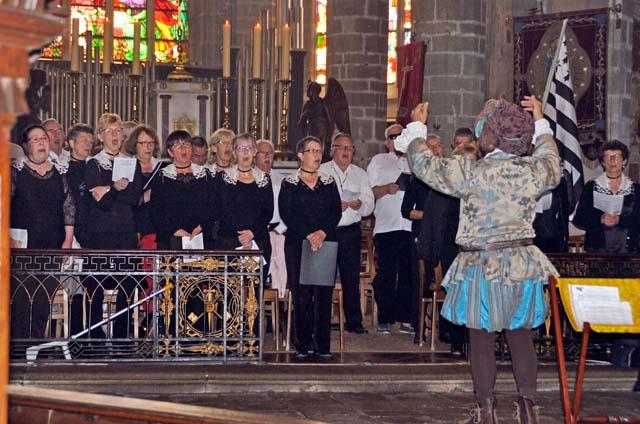 Grand-messe médiévale à la Collégiale (mai 2017)